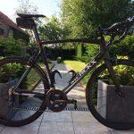 Koersfiets Merckx met vision team 35 wielen