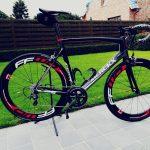 Koersfiets Merckx met FFWD wielen